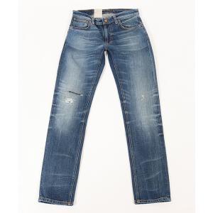 【Nudie Jeans(ヌーディージーンズ)】THIN FINN013 WORN TRUE デニムパンツ(113134032)|cambio