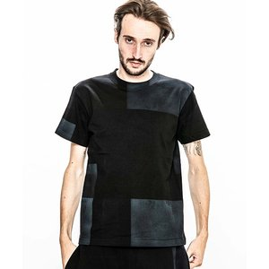 【ACANTHUS(アカンサス)】embroidery logo patchwork hand dye Tee Tシャツ(CT1906)|cambio