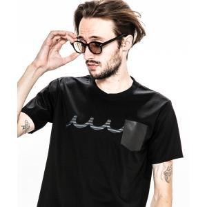 【ACANTHUS(アカンサス)】ACANTHUS×mutaleather pocket Tee Tシャツ(MA1905)|cambio