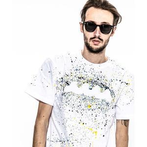【ACANTHUS(アカンサス)】ACANTHUS×muta embroidery logo hand splash Tee Tシャツ(MA1908)|cambio