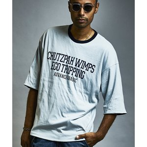 【EGO TRIPPING(エゴトリッピング)】WIDE REVERSIBLE TEE Tシャツ(663406)|cambio