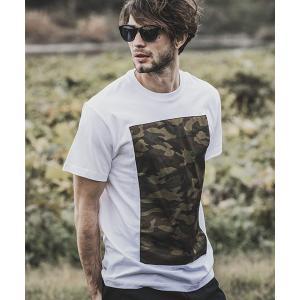 【felkod(フィルコッド)】Front Camouflage Short Sleeve Tee Tシャツ(F19S170)|cambio