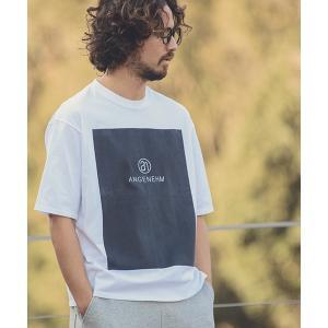 【ANGENEHM(アンゲネーム)】Big Box Logo Big Tee(MADE IN JAPAN) Tシャツ(ANG9-029)|cambio