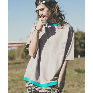 【CAMBIO(カンビオ)】Rib Switch Big Tee Tシャツ|cambio
