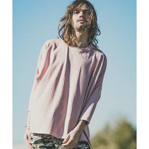 【CAMBIO(カンビオ)】Wide Tereko Dolman Tee Tシャツ|cambio