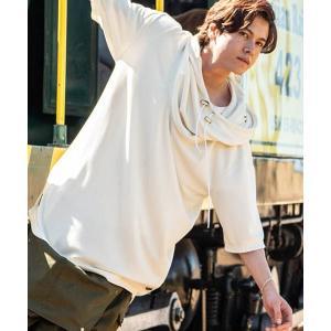 【glamb(グラム)】Jonathan drape hoodie ジョナサンドレープフーディー(GB0219-CS16)|cambio