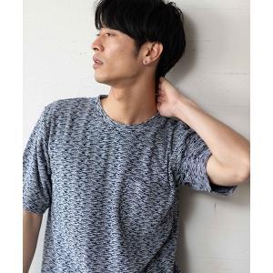 【CAMBIO(カンビオ)】ポケット付きパイルTシャツ|cambio