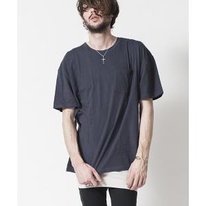 【NO ID.(ノーアイディー)】C天竺レイヤードT Tシャツ(844006-938T)|cambio