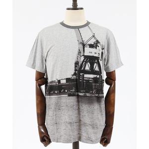 【Nudie Jeans(ヌーディージーンズ)】DANIEL GBG SKYLINE Tシャツ(131625)|cambio
