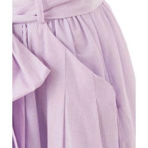 【Supreme.La.La.(シュープリームララ)】ソメワケストライプボリュームスカート(182-SK010)|cambio|11
