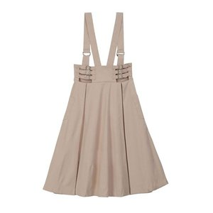 【honey salon(ハニーサロン)】ハイウエストサロペスカート(SA91L0L0300)|cambio