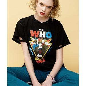 【jouetie(ジュエティ)】The who BIG Tee Tシャツ(081922700801)|cambio