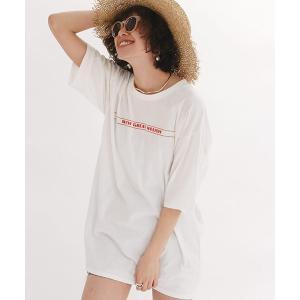 【Ungrid(アングリッド)】ロゴビッグTee Tシャツ(111922706901)|cambio