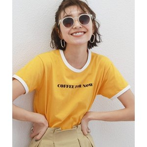 【Ungrid(アングリッド)】リンガーロゴTee Tシャツ(111922707201)|cambio
