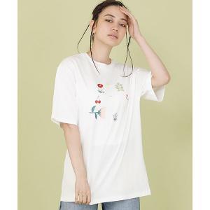 【Little sunny bite(リトルサニーバイト)】little sunny bite ×Clap Clap animals tee Tシャツ(LSB-LTOP-162L)|cambio