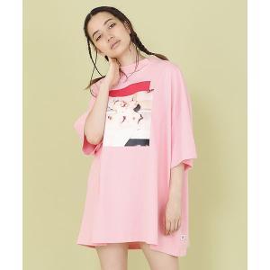 【Little sunny bite(リトルサニーバイト)】PHOTO BIG TEE Tシャツ(LSB-LTOP-139L)|cambio