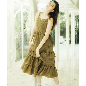 【Little sunny bite(リトルサニーバイト)】CHECKER LONG DRESS ワンピース(LSB-LOP-112L)|cambio