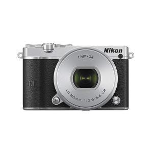 ニコン Nikon  ミラーレス一眼 Nikon1 J5 標準パワーズームレンズキット シルバー J...