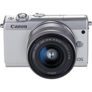 キヤノン Canon ミラーレス一眼カメラ EOS M100 EF-M15-45 IS STM レン...