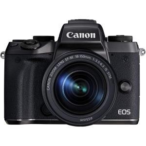 キヤノン Canon ミラーレス一眼カメラ EOS M5 レンズキット EF-M18-150mm F...