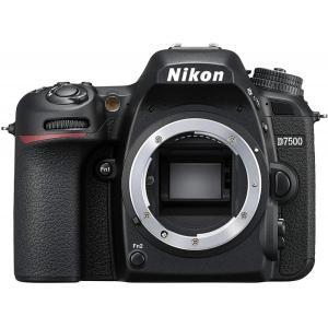 ニコン Nikon D7500 ボディ 新品SDカード付き <プレゼント包装承ります>