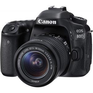 キヤノン Canon デジタル一眼レフカメラ EOS 80D レンズキット EF-S18-55mm ...