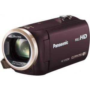 パナソニック Panasonic デジタルハイビジョンビデオカメラ 内蔵メモリー32GB ブラウン ...