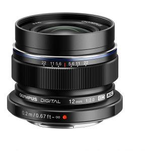 オリンパス OLYMPUS 単焦点レンズ M.ZUIKO DIGITAL ED 12mm F2.0 ...