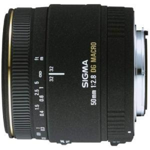 シグマ SIGMA 単焦点マクロレンズ MACRO 50mm F2.8 EX DG キヤノン用 フル...