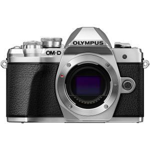 オリンパス OLYMPUS OM-D E-M10 MarkIII ボディー シルバー 新品SDカード...