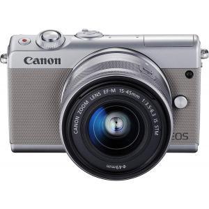 キヤノン Canon EOS M100 EF-M15-45 IS STM レンズキット(グレー) E...