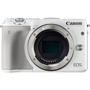 キヤノン Canon ミラーレス一眼カメラ EOS M3 ボディ(ホワイト) 新品SDカード付き