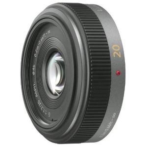 パナソニック Panasonic 単焦点 広角パンケーキレンズ LUMIX G 20mm/F1.7 ...