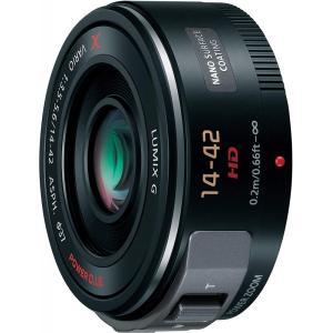 パナソニック Panasonic  14-42mm F3.5-5.6 電動ズーム搭載標準レンズ ブラ...