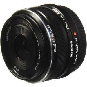オリンパス OLYMPUS 単焦点レンズ M.ZUIKO DIGITAL 17mm F1.8 ブラッ...