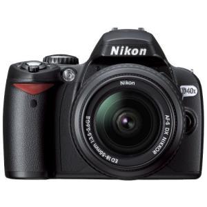 ニコン Nikon デジタル一眼レフカメラ D40X レンズキット 新品SDカード付き