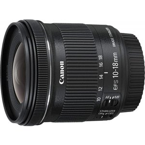 キヤノン Canon 超広角ズームレンズ EF-S10-18mm F4.5-5.6 IS STM A...
