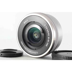 ソニー ズームレンズ E PZ 16-50mm F3.5-5.6 OSS SELP1650 グレー