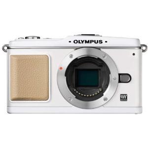オリンパス OLYMPUS ミラーレス一眼 E-P1 ボディ ホワイト 新品SDカード付き  <プレ...