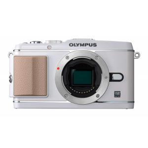 オリンパス OLYMPUS ミラーレス一眼 PEN E-P3 ボディ ホワイト 新品SDカード付き