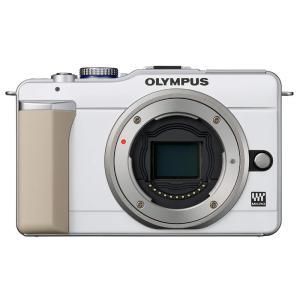 オリンパス OLYMPUS ミラーレス一眼 PEN E-PL1ボディ ホワイト 新品SDカード付き ...