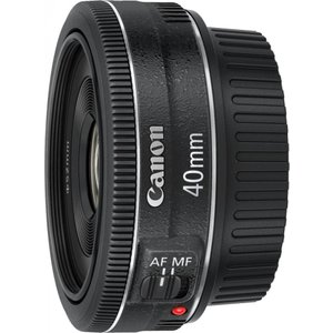 キヤノン Canon 単焦点レンズ EF40mm F2.8 STM フルサイズ対応