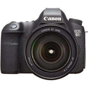キヤノン Canon デジタル一眼レフ EOS 6D レンズキット EF24-105mm F4L I...