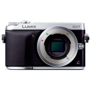 パナソニック Panasonic ミラーレス一眼カメラ ルミックス GX7 ボディ シルバー 新品S...