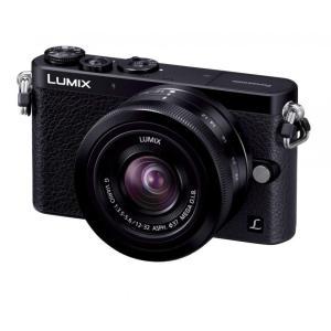 パナソニック デジタル一眼カメラ ルミックス GM1 レンズキット 標準ズームレンズ付属 ブラック ...