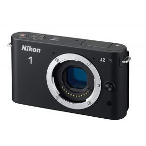 ニコン Nikon ミラーレス一眼 ニコン Nikon 1 J2 ボディー ブラック 新品SDカード...