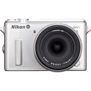 ニコン Nikon  AW1 防水ズームレンズキット シルバー N1AW1LKSL 新品SDカード付...