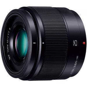パナソニック Panasonic 単焦点レンズ LUMIX G 25mm/ F1.7 ASPH. ブ...