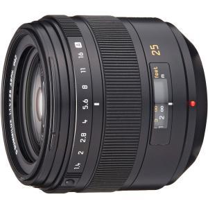 パナソニック Panasonic 単焦点レンズ フォーサーズ用 ライカ D SUMMILUX 25m...
