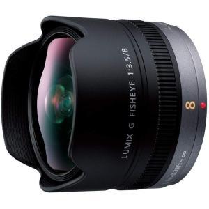 パナソニック Panasonic 単焦点 魚眼レンズ LUMIX G FISHEYE 8mm/F3....